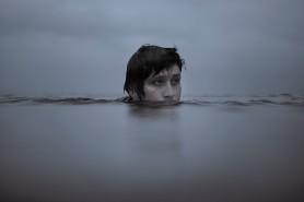Hayden Calnin Half Head Out of water